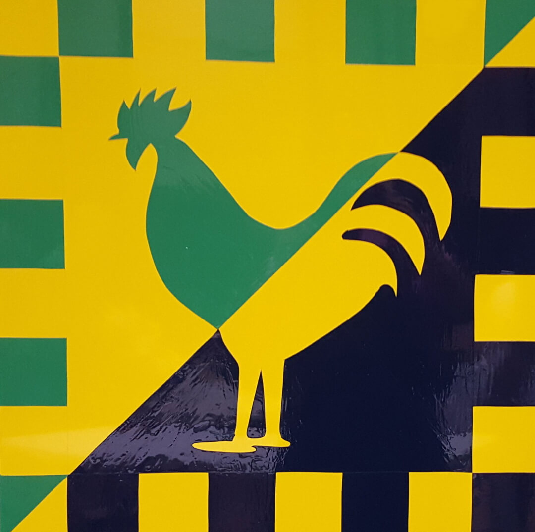 Barns N Brews Quot Rooster Quot Barn Quilt First Street